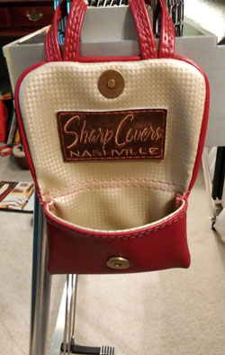 pick and bar pouch by Sharp Covers Nashville