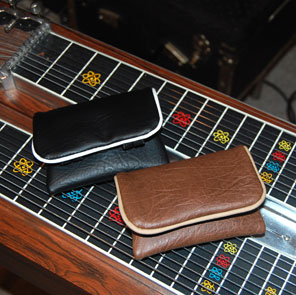 steel guitar pick and bar pouch